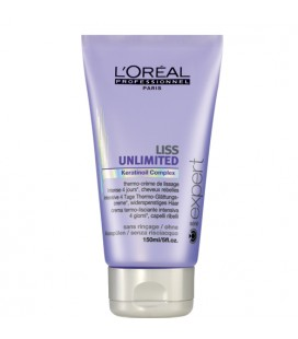 Liss Unlimited thermo crème de lissage l'oreal professionnel 150ml