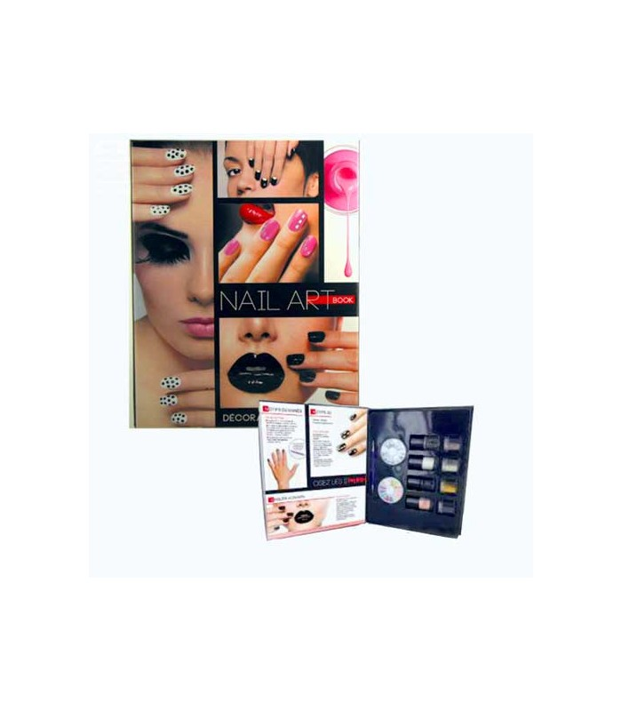 nail art book complete kit for nail decoration. Black Bedroom Furniture Sets. Home Design Ideas
