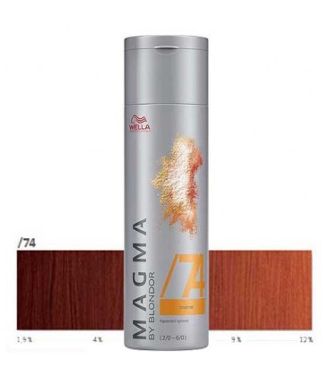 Magma /74 (120g) marron rouge