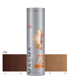 Wella Magma /73 golden brown 120g