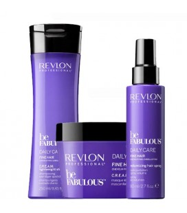 Fabulous daily care Pack soin complet Cheveux fins