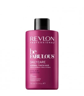 Be Fabulous daily care conditioner normal to thick hair 750ml