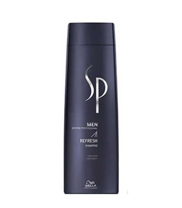 SP Men Refresh shampoo Shampooing cheveux & corps 250ml