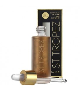 St. Tropez Self Tan Luxe Facial Oil - Face Bronzing Oil 30ml