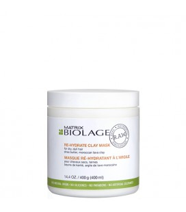 Biolage R.A.W clay rehydrating mask 400ml