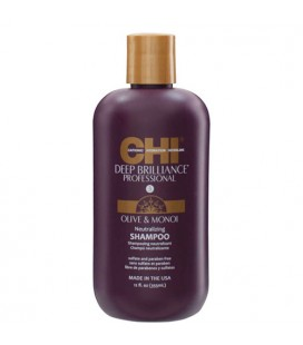 CHI Deep Brilliance Olive & Monoi Oil Optimum moisture shampoo 355ml