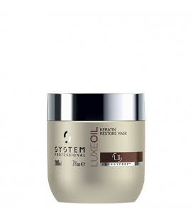 System Professional EnergyCode L3 LuxeOil Keratin Restore Mask 200ml