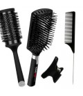 Hair accessories comb brushes